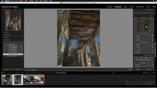 Exchanging the HDR file with Photoshop: Creating High-Dynamic Range (HDR) Photos with Lightroom