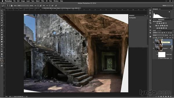 Additional lens correction: Creating High-Dynamic Range (HDR) Photos with Lightroom