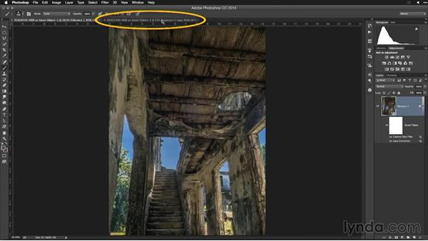 Invoking Camera Raw as a filter: Creating High-Dynamic Range (HDR) Photos with Lightroom
