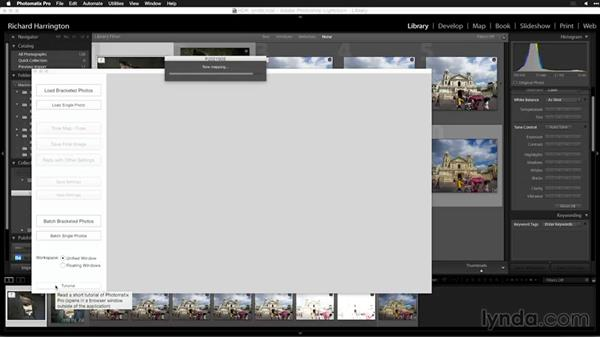Advanced deghosting in Photomatix Pro: Creating High-Dynamic Range (HDR) Photos with Lightroom