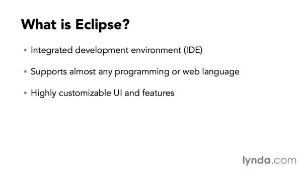 What is Eclipse?: Eclipse Essential Training