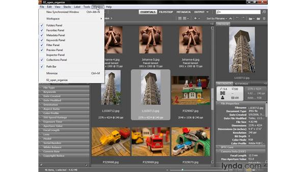 Full-screen preview and rotating: Photoshop CS4 One-on-One: Fundamentals