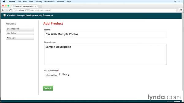 Processing each photo: Uploading Photos with CakePHP