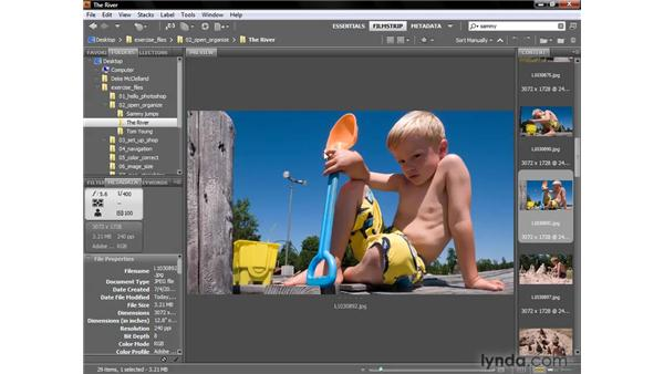 Customizing and saving the workspace: Photoshop CS4 One-on-One: Fundamentals