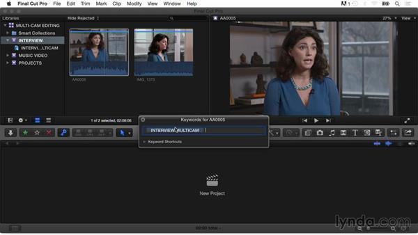 Welcome: Final Cut Pro X Guru: Multicamera Video Editing
