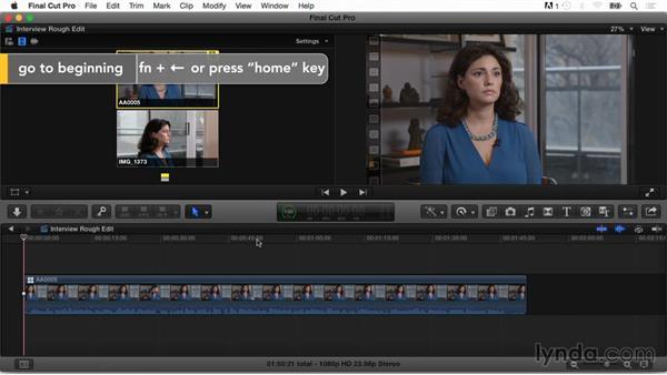 Editing a multicam interview: Final Cut Pro X Guru: Multicamera Video Editing