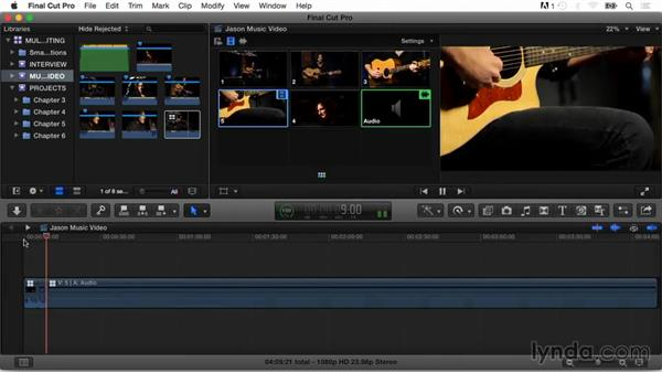 Goodbye: Final Cut Pro X Guru: Multicamera Video Editing