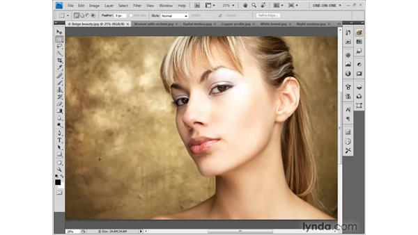 Using the numerical zoom value: Photoshop CS4 One-on-One: Fundamentals