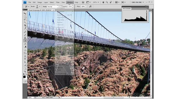 Restoring details with the History brush: Photoshop CS4 One-on-One: Fundamentals