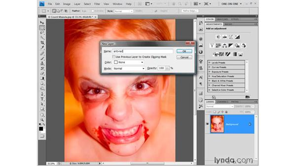 Using the Color Balance feature: Photoshop CS4 One-on-One: Fundamentals