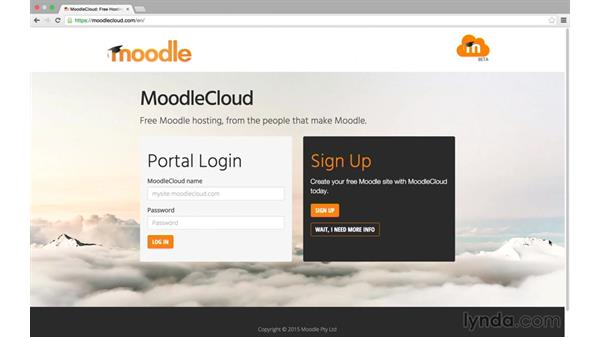 What is MoodleCloud?: MoodleCloud: First Look