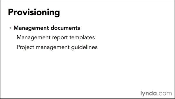 Provisioning the libraries: Managing Projects with SharePoint 2013