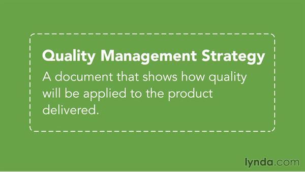 Quality: PRINCE2 Fundamentals