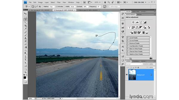 Meet the Selection tools: Photoshop CS4 One-on-One: Fundamentals