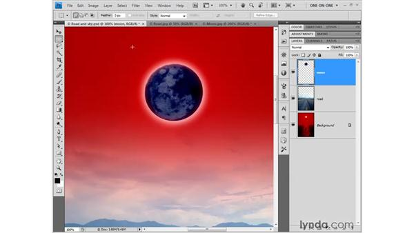 Inverting and matching colors: Photoshop CS4 One-on-One: Fundamentals