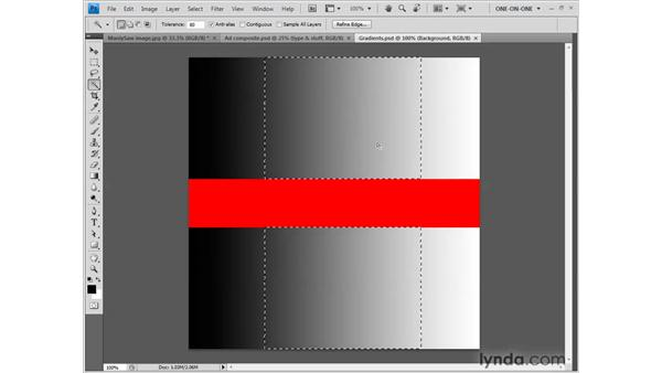 Tolerance and other options: Photoshop CS4 One-on-One: Fundamentals