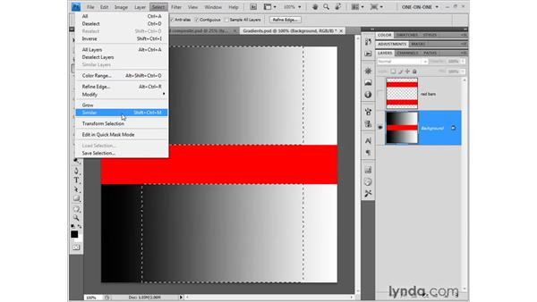 Grow, Similar, and Inverse: Photoshop CS4 One-on-One: Fundamentals