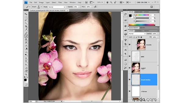 Creating photographic artwork: Photoshop CS4 One-on-One: Fundamentals