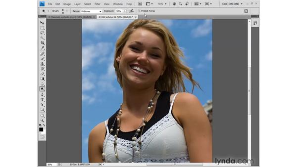 The new and improved Dodge tool: Photoshop CS4 One-on-One: Fundamentals