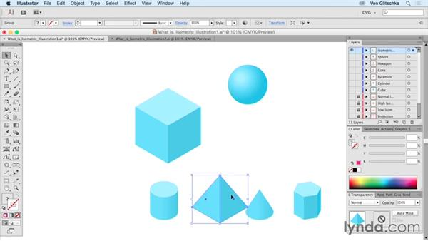 What is isometric illustration?: Drawing Vector Graphics: Isometric Illustration