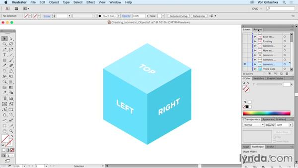 Creating isometric objects: Part 1: Drawing Vector Graphics: Isometric Illustration