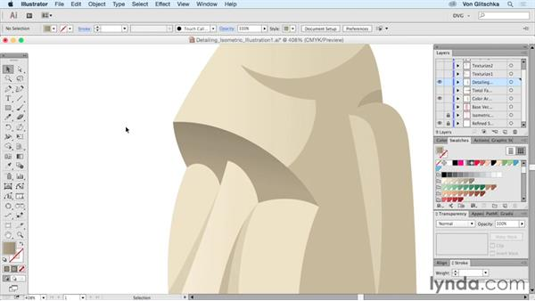 Detailing isometric illustrations: Part 1: Drawing Vector Graphics: Isometric Illustration