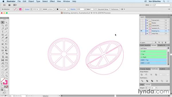 Detailing isometric illustrations: Part 2: Drawing Vector Graphics: Isometric Illustration