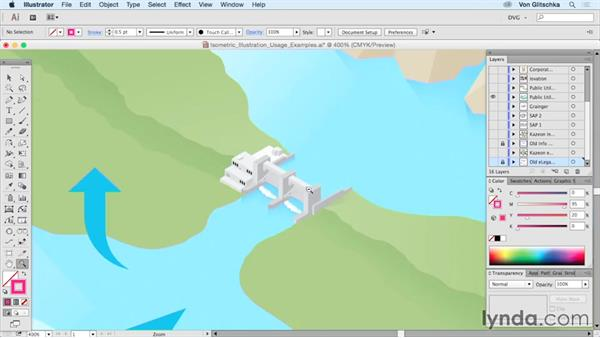 Isometric illustration usage examples: Drawing Vector Graphics: Isometric Illustration