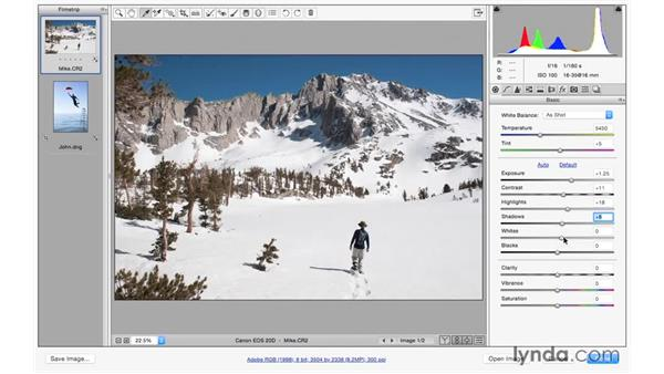 Crafting the look with the basic controls: Photoshop CC for Photographers: Camera Raw 9 Fundamentals