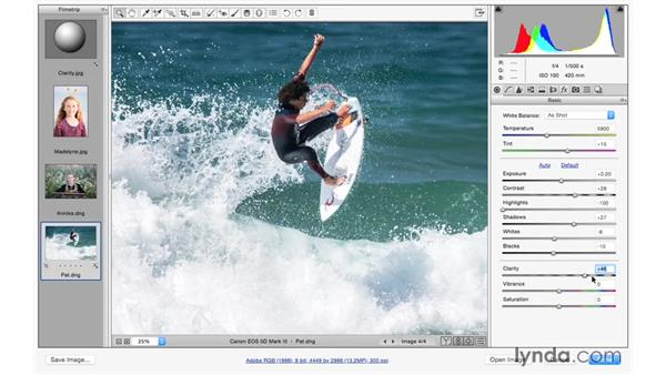 Using Clarity to improve your photographs: Photoshop CC for Photographers: Camera Raw 9 Fundamentals