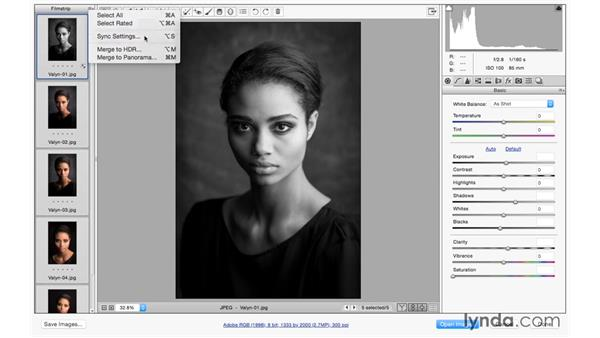 Batch processing: Photoshop CC for Photographers: Camera Raw 9 Fundamentals