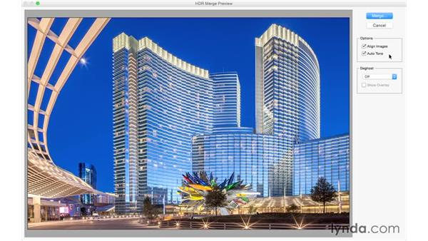 Building an HDR image: Photoshop CC for Photographers: Camera Raw 9 Fundamentals