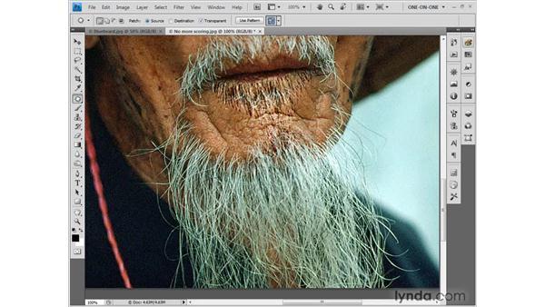 The Transparent checkbox: Photoshop CS4 One-on-One: Fundamentals