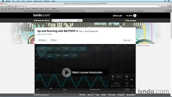 What you should know before watching this course: Drum Programming and Sampling with BATTERY
