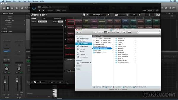 Cell rendering: Drum Programming and Sampling with BATTERY