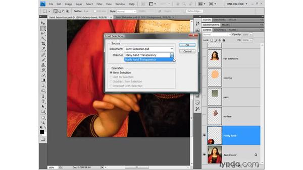 Enlarging with the Spherize filter: Photoshop CS4 One-on-One: Fundamentals