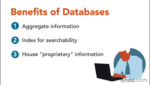 Databases: Information Literacy
