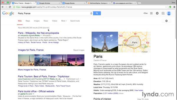 Beyond Google: Information Literacy