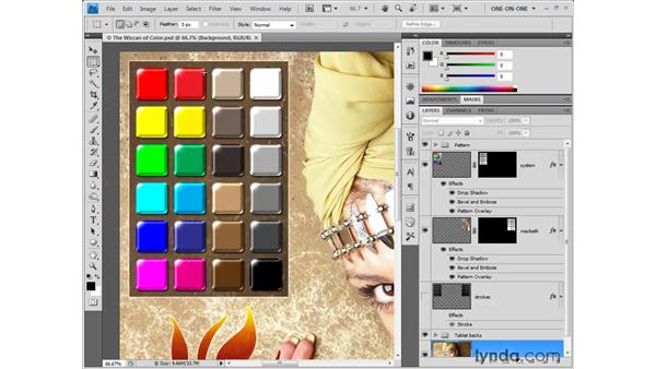 Meet the subjective color-matching image: Photoshop CS4 One-on-One: Fundamentals