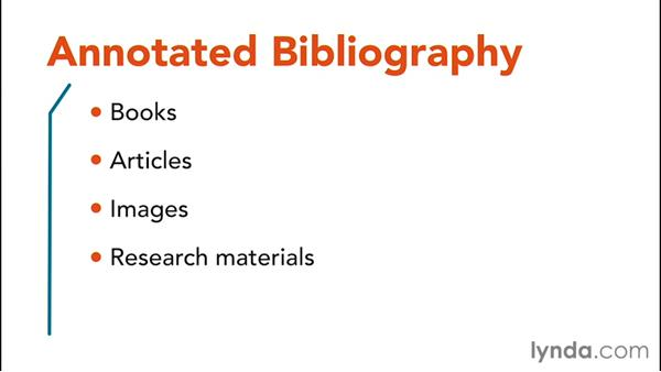 Annotated bibliographies: Information Literacy
