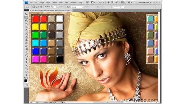 Gauging print size: Photoshop CS4 One-on-One: Fundamentals
