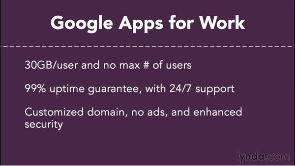 Choosing a plan: Administering Google Apps