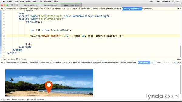 Introduction to this course: Creating an HTML5 Banner Ad with GreenSock (GSAP)