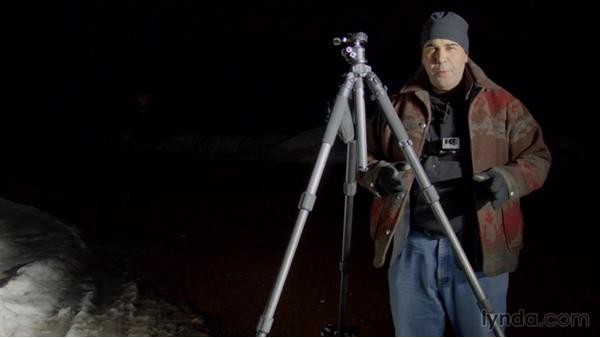 How to add extra stability to your tripod: Shooting a Nighttime Time-Lapse Video