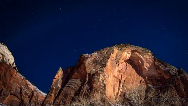 Using Deflicker: Shooting a Nighttime Time-Lapse Video