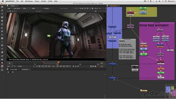 Welcome: NUKE Compositing: Sci-Fi Force Field