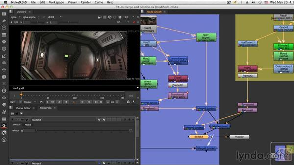 Compositing the character: NUKE Compositing: Sci-Fi Force Field