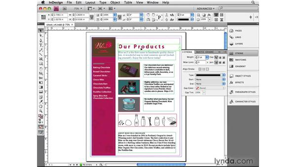 Managing panels: InDesign CS4 Beyond the Basics