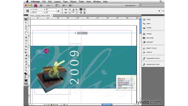 Formatting and positioning guides: InDesign CS4 Beyond the Basics