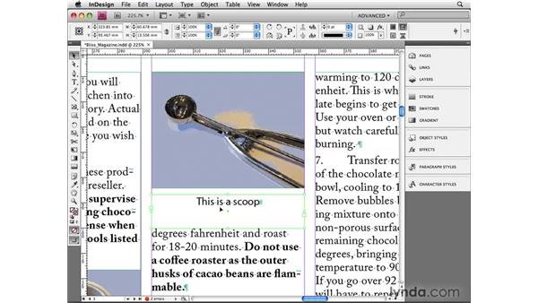 Setting first baseline options: InDesign CS4 Beyond the Basics